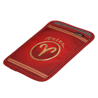 Aries Zodiac Symbol iPad Mini Sleeve