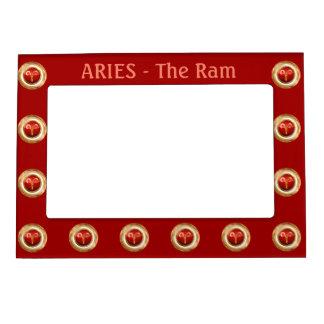 Aries Zodiac Symbol Magnetic Photo Frame