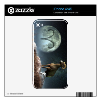 Aries Zodiac Symbol Decal For iPhone 4