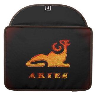 Aries Zodiac Symbol Sleeve For MacBooks