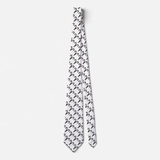 Aries Zodiac Symbol Standard Tie