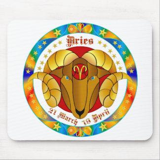 Aries Zodiac-V-1 Set-1 Mouse Pad