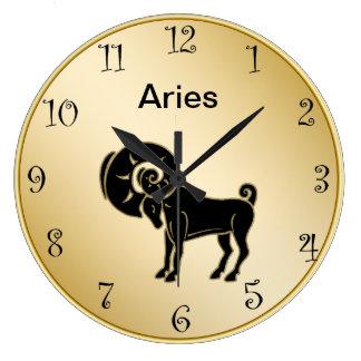 aries zodiac wall clock - Wall Clocks