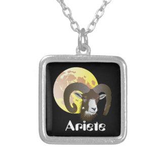 Ariete 21 marzo Al 20 April Collana Silver Plated Necklace