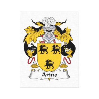 Arino Family Crest Canvas Print