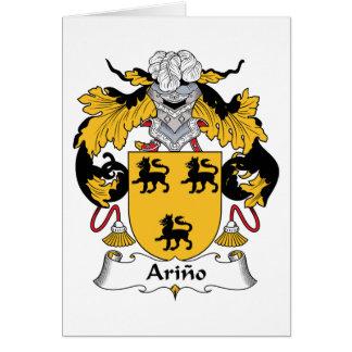 Arino Family Crest Card