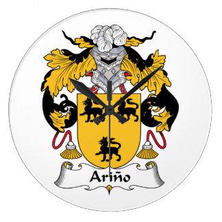 Arino Family Crest Clocks