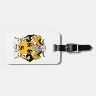 Arino Family Crest Luggage Tag