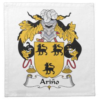 Arino Family Crest Cloth Napkin