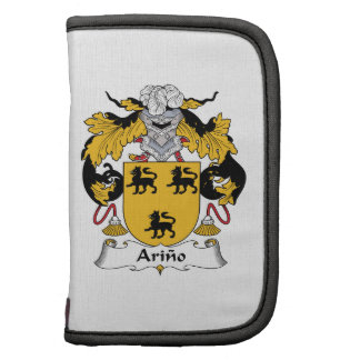 Arino Family Crest Folio Planner