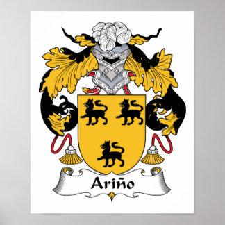 Arino Family Crest Poster