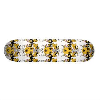 Arino Family Crest Custom Skate Board
