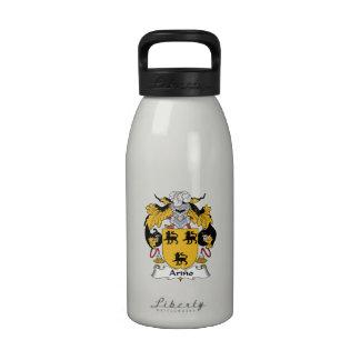 Arino Family Crest Water Bottles