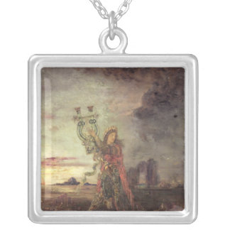 Arion, 1891 silver plated necklace