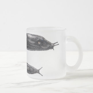Arion rufus - frosted glass watercolor mug