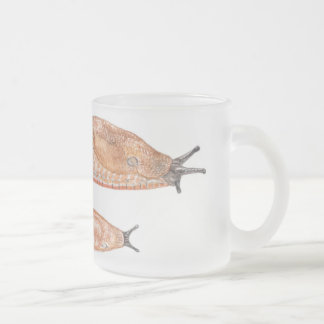 """Arion rufus """"red"""" phase - watercolor mug"""