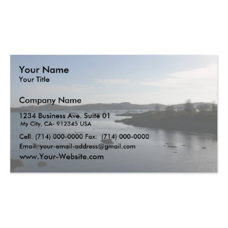 Arisaig On The Road To The Isles Double-Sided Standard Business Cards (Pack Of 100)