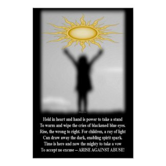 Arise Against Abuse Poster
