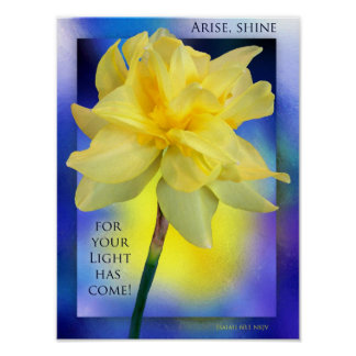 """Arise, Shine!"" Canvas print"