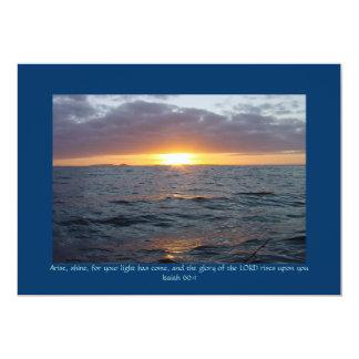 Arise Shine - Isaiah 60:1 Card