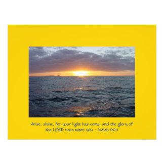 Arise Shine - Isaiah 60:1 Flyer