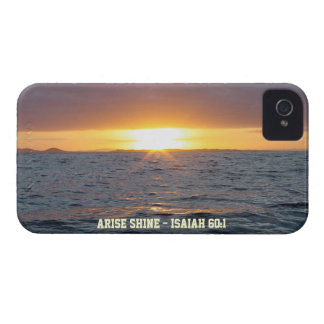 Arise Shine - Isaiah 60:1 iPhone 4 Cover