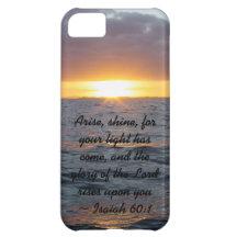 Arise Shine - Isaiah 60:1 iPhone 5C Cover