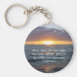 Arise Shine - Isaiah 60:1 Basic Round Button Keychain