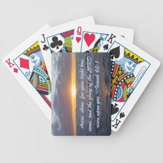 Arise Shine - Isaiah 60:1 Card Decks