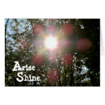 Arise Shine Isaiah 60 Christian card