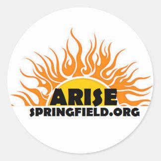Arise Website Logo Sticker
