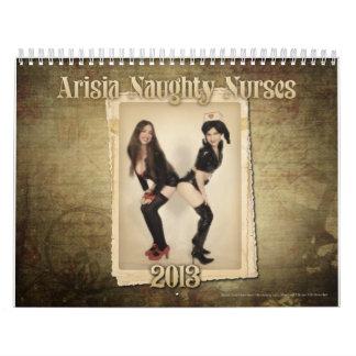 Arisia Naughty Nurse Calendar