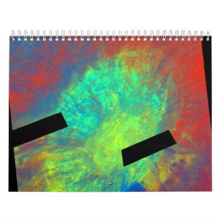 Aristarchus Crater in False Color Calendar