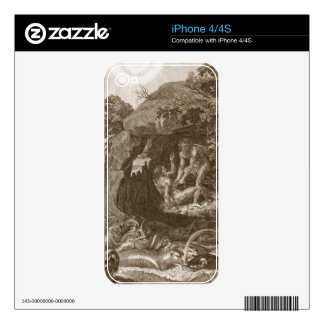 Aristeus Compels Proteus to Reveal his Oracles, 17 iPhone 4S Decals
