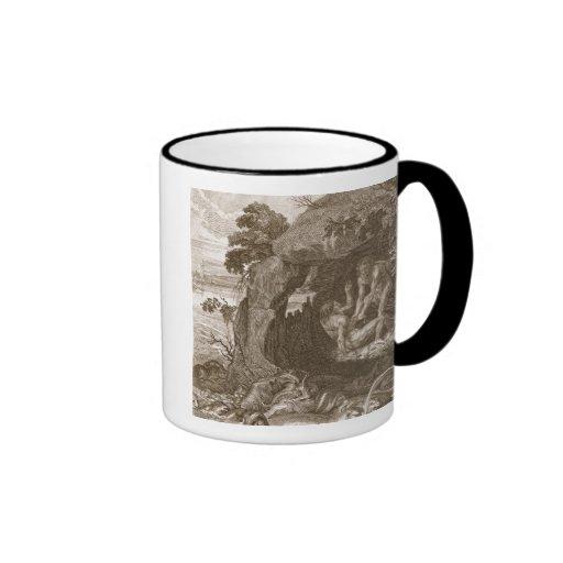 Aristeus Compels Proteus to Reveal his Oracles, 17 Ringer Mug