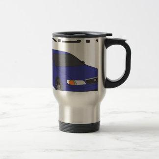 Aristo azul taza de viaje