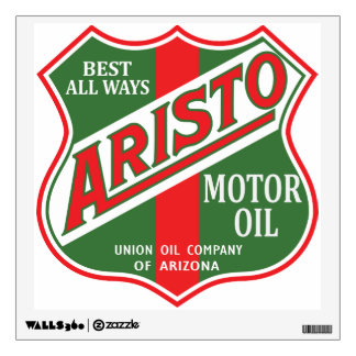 Aristo Motor Oil vintage sign reproduction Wall Decal