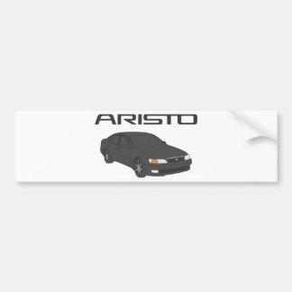 Aristo trasero pegatina para coche