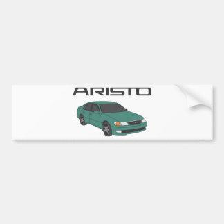 Aristo verde pegatina para coche