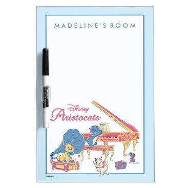 Disney Themed Aristocats at the Piano Dry-Erase Board