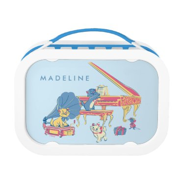 Disney Themed Aristocats at the Piano Lunch Box