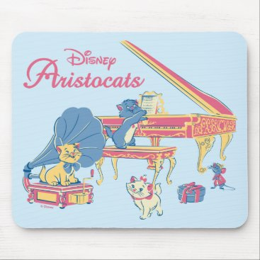 Disney Themed Aristocats at the Piano Mouse Pad
