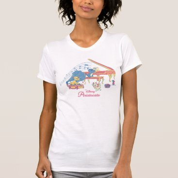 Disney Themed Aristocats at the Piano T-Shirt
