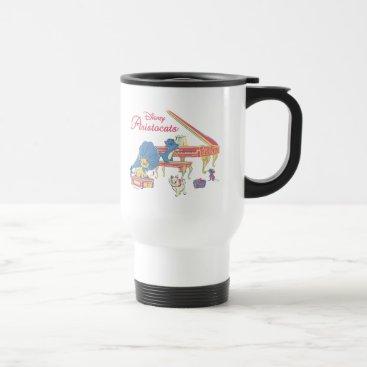 Disney Themed Aristocats at the Piano Travel Mug