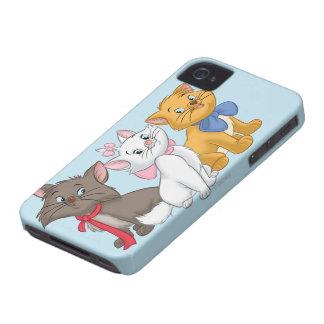 Aristocats Case-Mate iPhone 4 Coberturas