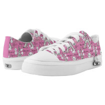 Aristocats | Marie Paris Pattern Low-Top Sneakers