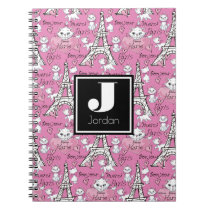 Aristocats | Marie Paris Pattern Notebook
