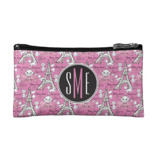 Aristocats | Monogram Marie Paris Pattern Cosmetic Bag