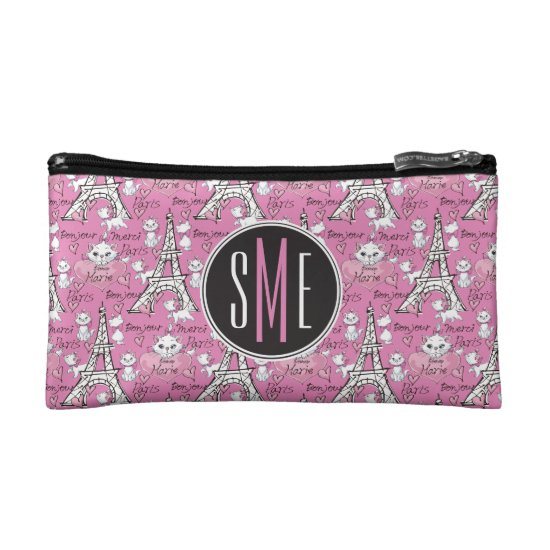 Aristocats | Monogram Marie Paris Pattern Cosmetic Bag