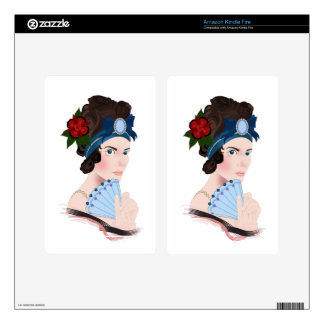 aristocrat decal for kindle fire